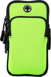 Alogy Etui torba armband opaska na ramię do telefonu SportBag Zielone uniwersalny