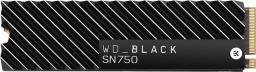 Dysk SSD Western Digital Black SN750 500 GB M.2 2280 PCI-E x4 Gen3 NVMe (WDBGMP5000ANC-WRSN)