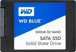 Dysk SSD Western Digital Blue 500 GB 2.5'' SATA III (WDBNCE5000PNC-WRSN)