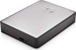 Dysk zewnętrzny G-Technology HDD G-DRIVE Mobile 4 TB Szary (0G10347)