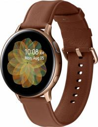 Smartwatch Samsung Galaxy Watch Active 2 Stainless Gold 44mm Brązowy  (SM-R820NSDADBT)