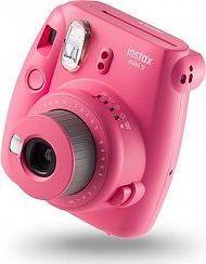 Aparat cyfrowy Fujifilm  Instax Mini 9 Różowy + Etui + Wkład