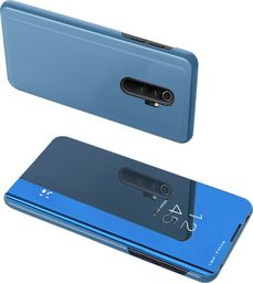 Hurtel Clear View Case futerał etui z klapką Xiaomi Redmi Note 8 Pro niebieski uniwersalny