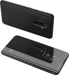 Hurtel Clear View Case futerał etui z klapką Xiaomi Redmi Note 8 Pro czarny uniwersalny
