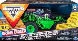 Spin Master Monster Jam 1:24 na radio Gravedigger