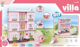 Askato Domek dla lalek Villa 3 piętra