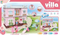 Askato Domek dla lalek Villa 2 piętra
