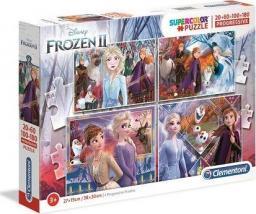 Clementoni Clementoni Puzzle 20+60+100+180el Frozen 2 21411