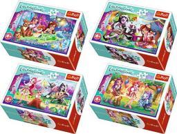 Trefl Puzzle 54 elementów Mini Enchantimals Wesoły dzień Enchantimals
