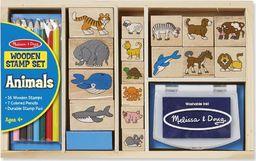 Melissa & Doug MELISSA Pieczątki drewniane Zwierzęta 13798