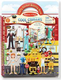 Melissa & Doug MELISSA Wielorazowe naklejki Cool Careers 19426