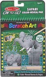 Melissa & Doug MELISSA Zdrapywanka Tęczowe karteczki Scratch Art Safari 19150