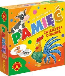 Alexander Pamięć zwierzęta domowe mała gra podróżna p18