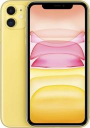 Smartfon Apple iPhone 11 64 GB Dual SIM Żółty  (MWLW2PM/A)