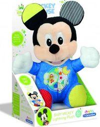 Clementoni Baby Mickey - Świecący pluszak niebieski