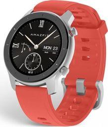 Smartwatch Xiaomi Amazfit GTR 42mm Czerwony  (A1910RD)
