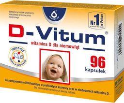 Oleofarm D Vitum Baby Witamina D 96 kaps