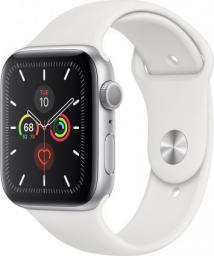 Smartwatch Apple Watch 5 GPS 44mm Silver Alu Biały  (MWVD2WB/A)
