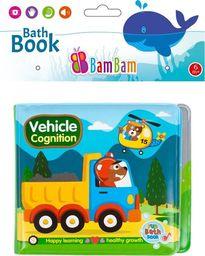 BamBam Książeczka do kąpieli Pojazdy