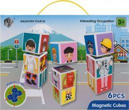 Mega Creative KLOCKI MAGNETYCZNE OBROTOWE 6 ELEMENTÓW MEGA CREATIVE 438083