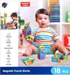 Mega Creative KLOCKI MAGNETYCZNE 18 ELEMENTÓW MEGA CREATIVE 438082