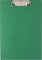 D.Rect Deska A4 PVC z klipem zielona D.RECT
