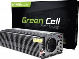 Przetwornica Green Cell Samochodowa Przetwornica Napięcia Green Cell ® 12V do 230V, 500W/1000W