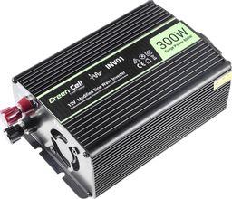 Przetwornica Green Cell Samochodowa  Napięcia   12V do 230V, 300W/600W