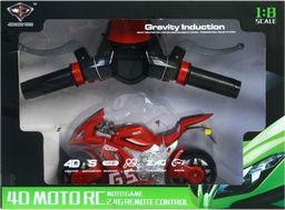 Mega Creative Motocykl 4D z symulatorem