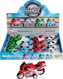 Mega Creative Motocykl Metalowy 9cm