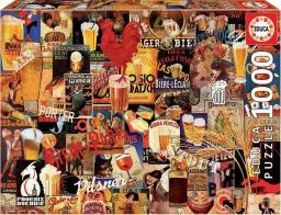 Educa Puzzle 1000 elementów Kolaż piwo