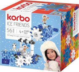 Korbo Klocki Ice Friends 56 elementów