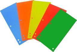 D.Rect Przekładki kartonowe 1/3 A4 mix kolorów 100szt.