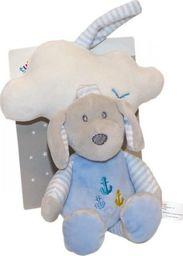Axiom Pozytywka z chmurką New Baby Piesek niebieski 35 cm