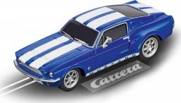 Carrera Auto Go Ford Mustang 67 Racing Blue