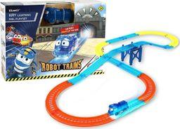 Cobi Zestaw z torami Robot Trains Świecący Kay