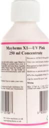 Mayhems X1 Koncentrat - UV Pink - 250ml (609224351587)