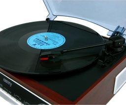 Gramofon Camry Gramofon z radiem i Bluetooth/MP3/USB/SD/Nagrywaniem CR 1168