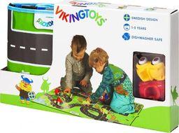 Viking Toys VIKING CITY MATA Z POJAZDAMI 3 EL.