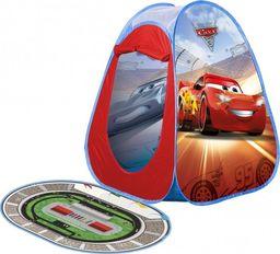 JOHN GMBH John Namiot Samorozkładający Cars 3 Auta z dywanikiem