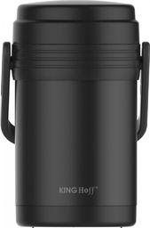 KingHoff Termos Obiadowy 1.5L czarny (KH-1396)