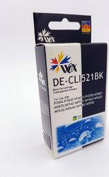 THI Zgodny Tusz Black do Canon iP3600 iP4600 MP550 MP560 MP620 MP640 MP980 MX860 / CLI 521BK / Czarny / 13ml /  zamiennik z chipem   uniwersalny