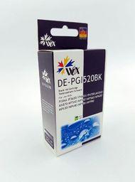 THI Zgodny Tusz Black do Canon iP3600 iP4600 MP550 MP560 MP620 MP640 MP980 MX860 / PGI 520BK / Czarny / 26 ml / zamiennik z chipem uniwersalny