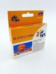 THI Zgodny Tusz Magenta do EPSON D120 DX4000 DX4450 DX5050 DX7450 S20 SX110 SX215 SX405 SX600 / T0713 (T0893) C13T01340110 / Czerwony / 12ml / zamiennik  uniwersalny