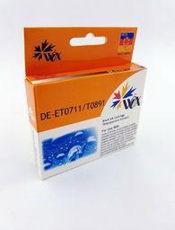 THI Zgodny Tusz Black do EPSON D120 DX4000 DX4450 DX5050 DX7450 S20 SX110 SX215 SX405 SX600 / T0711 (T0891) C13T07114011 / Czarny / 12 ml / zamiennik  uniwersalny