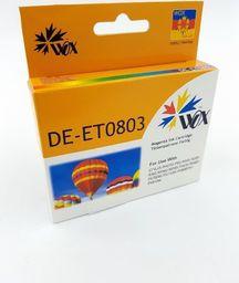 THI Zgodny Tusz Magenta do EPSON P50 PX650 PX700 PX720 PX800 R265 R360 RX585 / T0803 C13T08034010 / Czerwony / 18 ml /  zamiennik  uniwersalny
