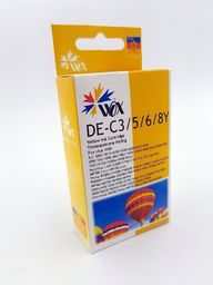 THI Zgodny Tusz Yellow do Canon S400 S450 S520 S600 S6300 BJC 3010 6100 i550 F30 F50 MPC400 / BCI3EY BCI6EY 4482A002 / Żółty / 14.5ml / zamiennik  uniwersalny