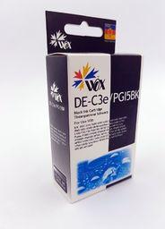 THI Zgodny Tusz Black do Canon S400 S450 S520 S600 S6300 BJC 3010 6100 i550 F30 F50 MPC400 / BCI3E 4479A002 / Czarny / 26ml / zamiennik  uniwersalny