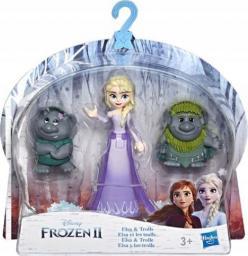 Hasbro Figurka  Frozen 2 Elsa i Trole (E5509/E7078)
