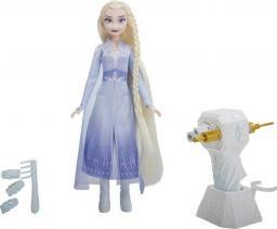 Hasbro Frozen 2 Elsa z lokówką (E6950/E7002)